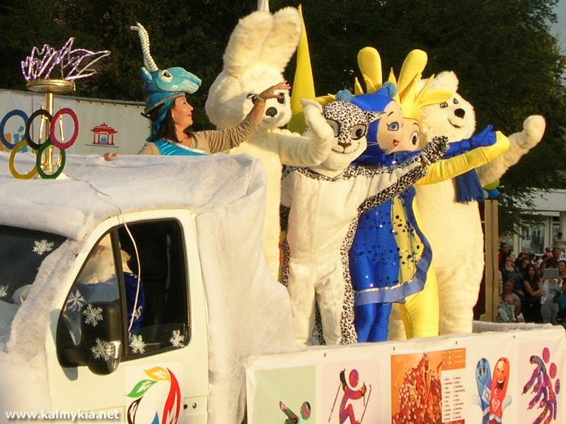 Карнавал в Элисте