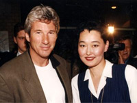 Richard Gere and TV star Alexandra Burataeva