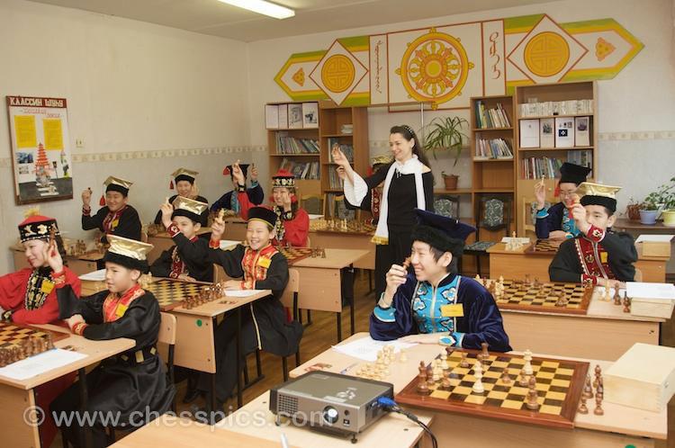 Alexandra Kosteniuk in Chess Academy