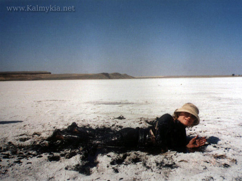 Dead sea of Kalmykia