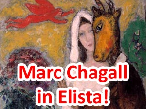 Exhibition of Marc Chagall
