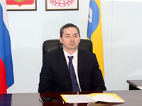 Prime Minister of the Republic of Kalmykia Igor Zotov