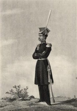 Don Kalmyk officers during the Napoleonic War