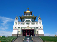 Central temple of Kalmykia