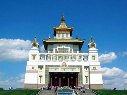 Central khurul Golden Abode of Buddha Shakyamuni