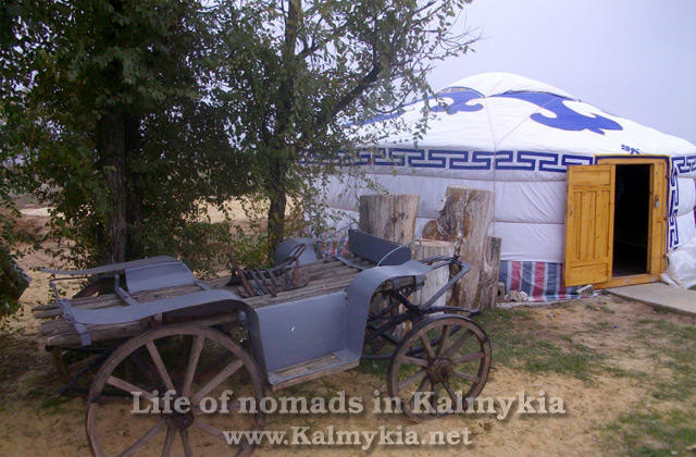 The life of the nomads in Kalmykia