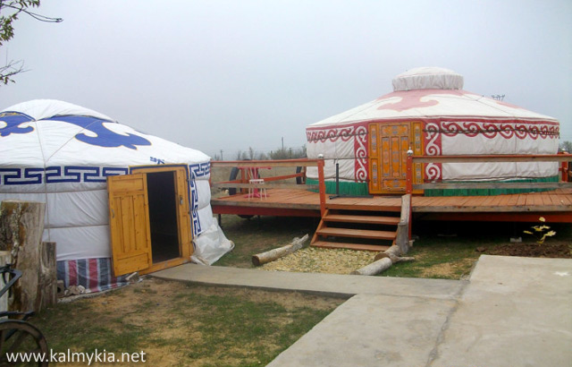 Life of nomads in Kalmykia