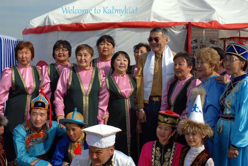 Festival del tulipan Kalmykia