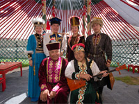 Kalmyks on the Smithsonian Folklife Festival, USA