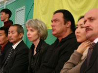 Steven Seagal in Kalmykia