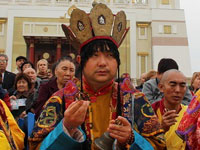 President of Buddhist Union of Kalmykia Telo Tulku Rinpoche