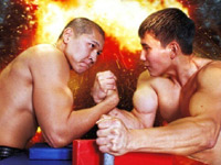All-Russian arm wrestling tournament