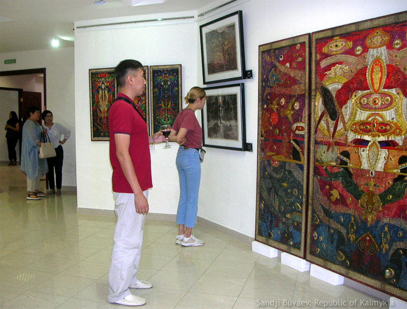 Exhibition in Russia